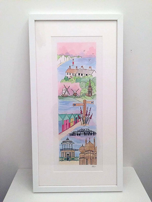 'Favourite Places' Portrait by Clare Harms