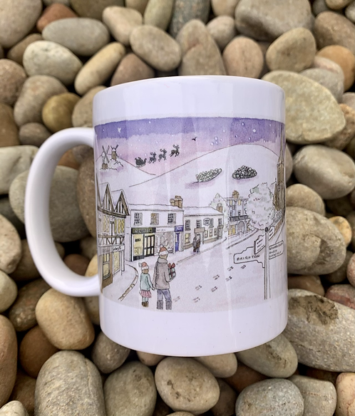 'It's a Wonderful Hurst' Mug by Clare Harms