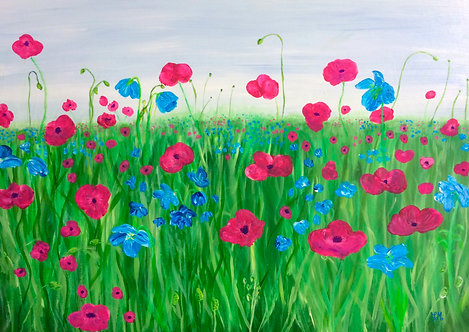 Poppies by Julie McDonald