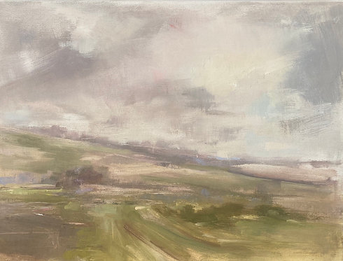 Low Cloud, Soft Light by Kate Harries