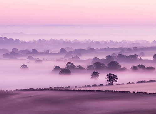 South Downs Mist by Joff Harms