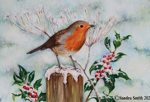 Robin and Holly by Sandra Smith