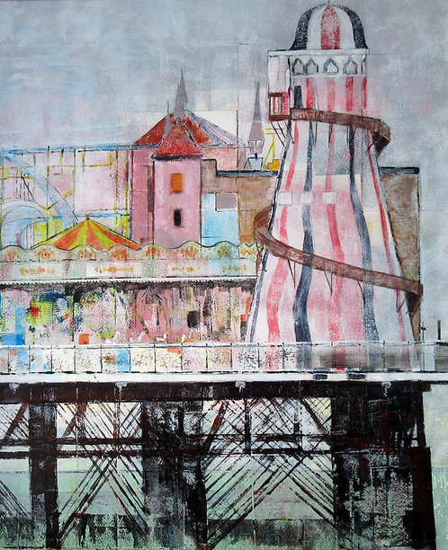 End of the Pier by Alison Sibley
