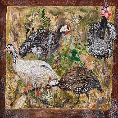 Guinea Fowl by Clare O'Neill