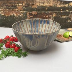 Shades of Flint salad bowl b