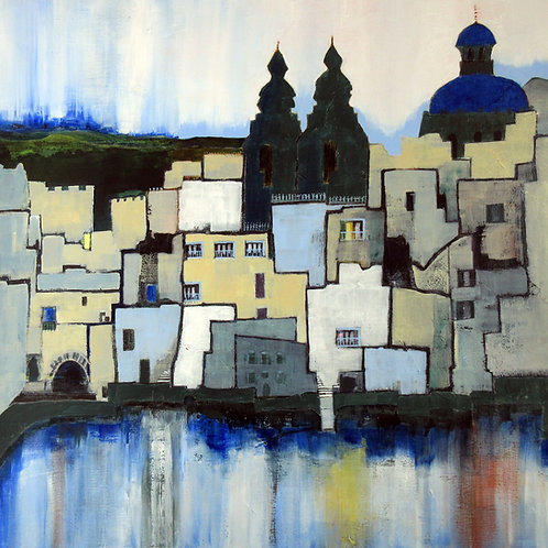Blue Balconies by Alison Sibley