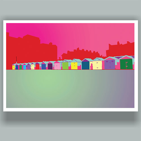 Beach Huts by Duncan Allan