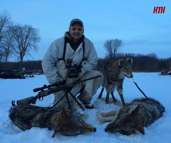 Successful evening hunt