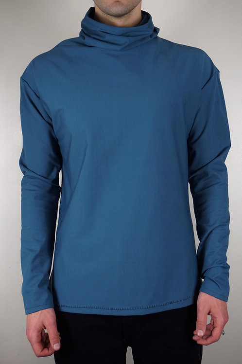 'Cosmos Blue' Long Sleeve Shirt