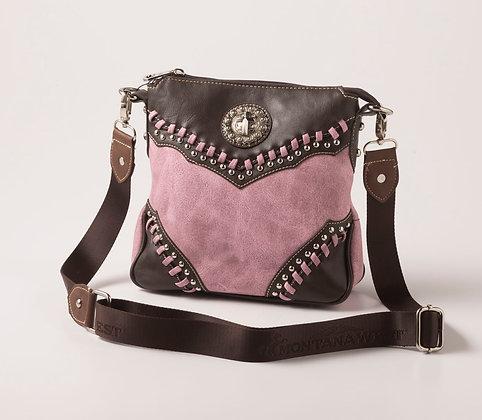 Ladie's Pink Shoulder Bag