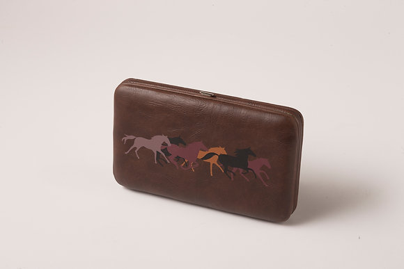 Brown Horse Design Wallet