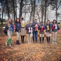 Our IEA Team, Green Oaks Equestrian Takes Reserve Champion HS and Reserve Champion MS Team in Tyler!