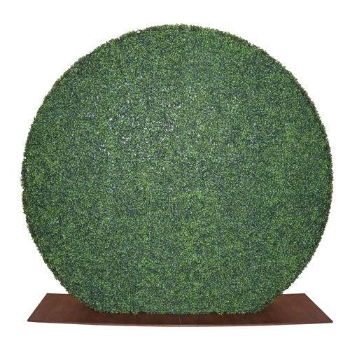 CIRCLE GRASS WALL