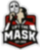 Lift The Mask logo.