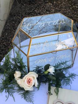 large glass cardbox