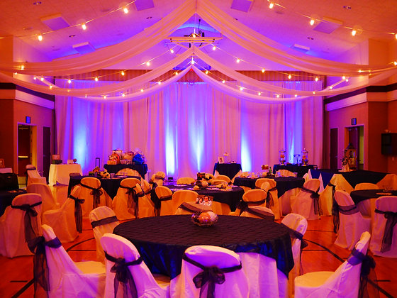 Room or Ceiling Draping - Rental