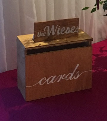 Wooden Cardbox - Rental