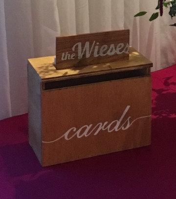 Wooden Cardbox - Rental