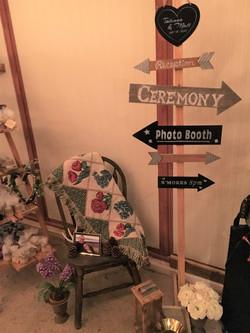 custom directional sign