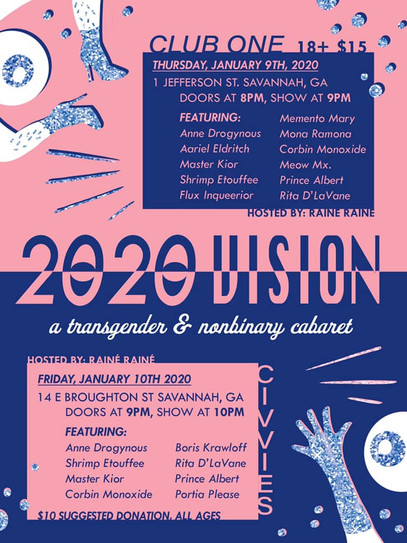 2020 Vision A Trans and NB Cabaret