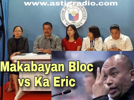 MAKABAYAN BLOC (Bayan Muna, Gabriela, Anakbayan, Kabataan at iba pa) hindi sumipot sa Senate Hearing