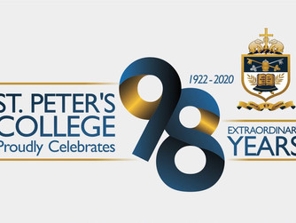 ST. PETER'S COMPLETES 98 YEARS BEING A 'SCHOOL OF PAR-EXCELLENCE'!