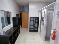 Dressing Rooms & Bathroom Area