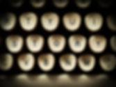 Schreibmaschinen-Tasten