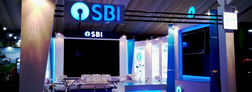 SBI Exhibition Stall at Advantage Assam