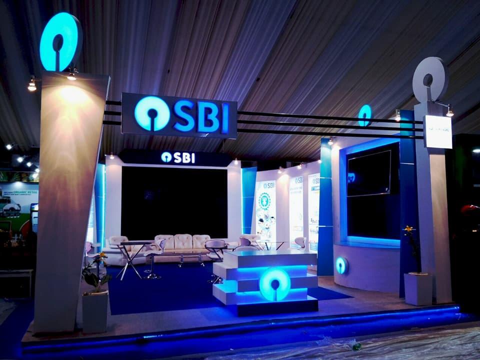 SBI Exhibition Stall at Advantage Assam