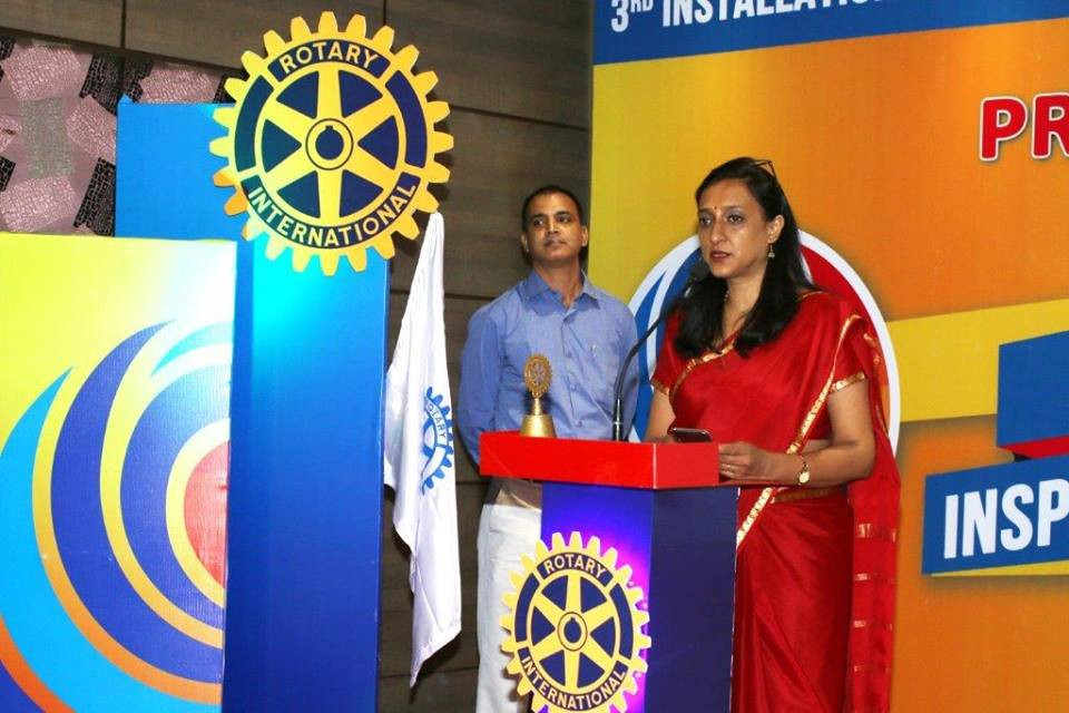 Rotary Club of Guwahati City Bod Installation