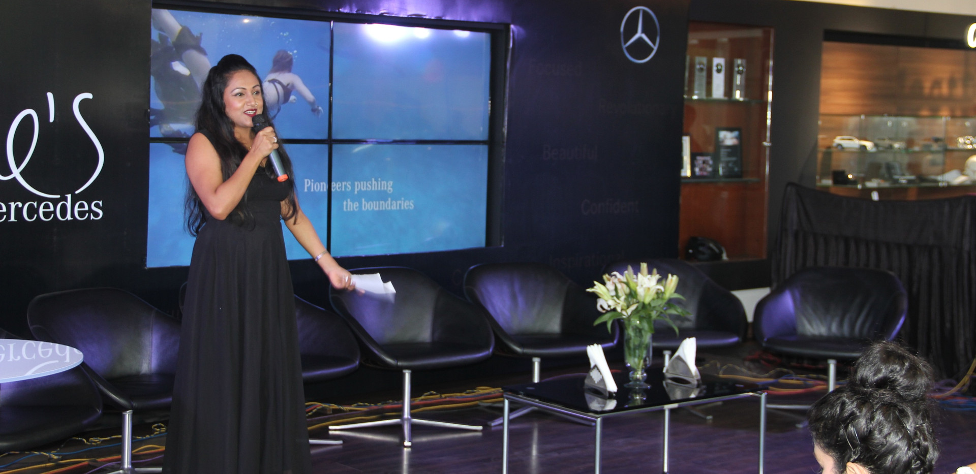 She's Mercedes Launch