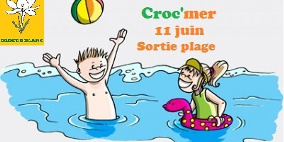 Croc'mer - Journée plage