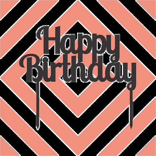 Birthday Cake Topper 002