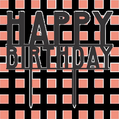 Birthday Cake Topper 074