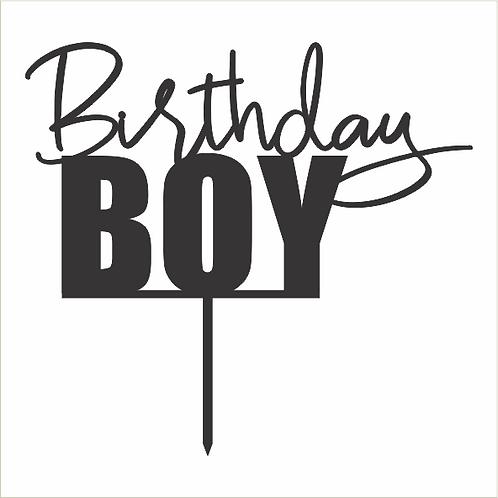 Birthday Cake Topper 080