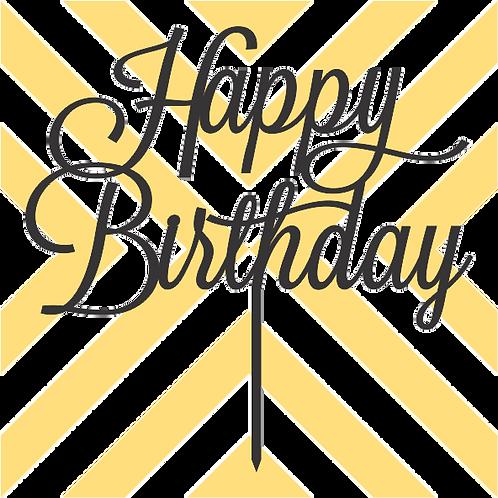 Birthday Cake Topper 070