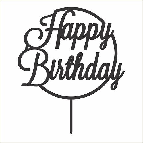 Birthday Cake Topper 034
