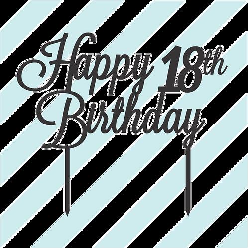 Birthday Cake Topper 032