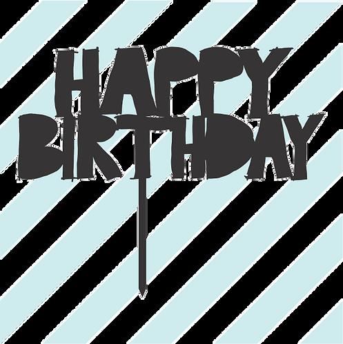 Birthday Cake Topper 069