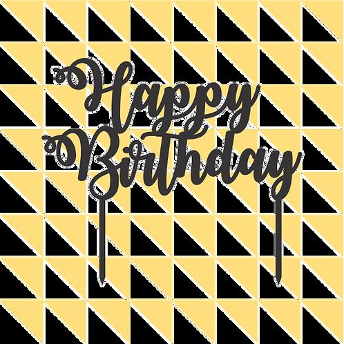 Birthday Cake Topper 003