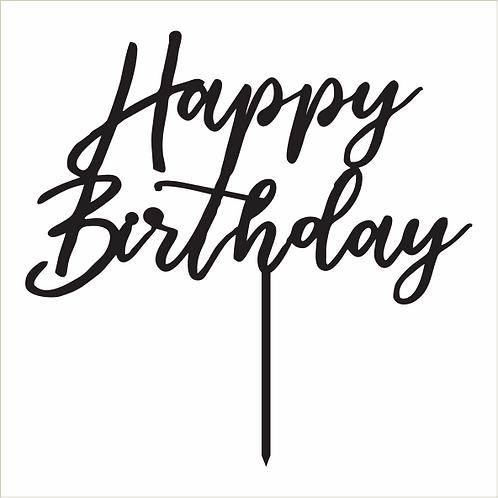 Birthday Cake Topper 068