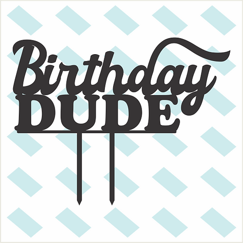 Birthday Cake Topper 088