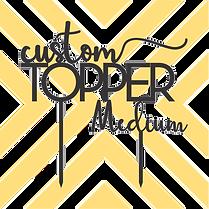 Medium Bespoke Topper (15x15cm)