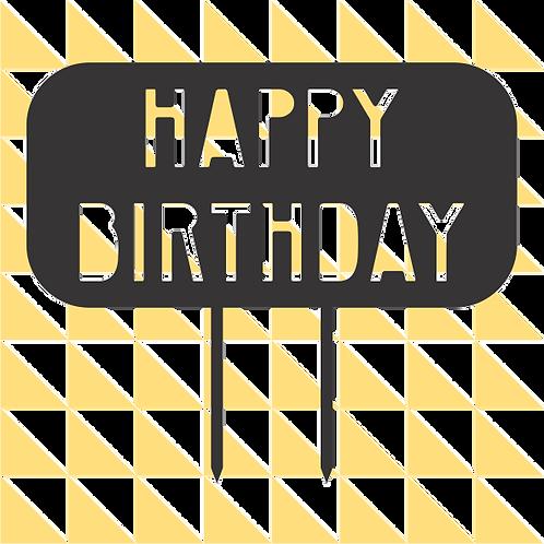 Birthday Cake Topper 075