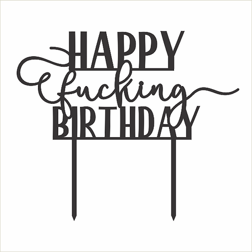 Birthday Cake Topper 084