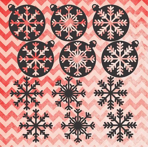 Christmas Baubles Set 1