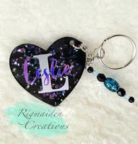 Custom L Keychain