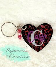 Custom C Keychain