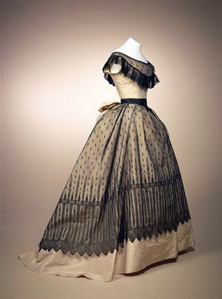 Memorable Dresses by Charles Worth worn by Marie